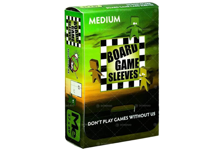 100 Board Game Sleeves 63,5x88 Sapphire Foderine per Giochi da Tavola