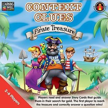 Amazon.com: Edupress Context Clues Pirate Treasure Red: Toys & Games