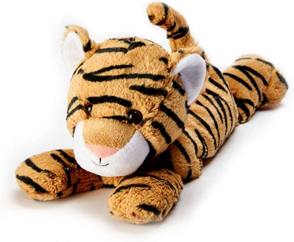 Tigre de peluche Warmies, apto para microondas y con aroma a ...
