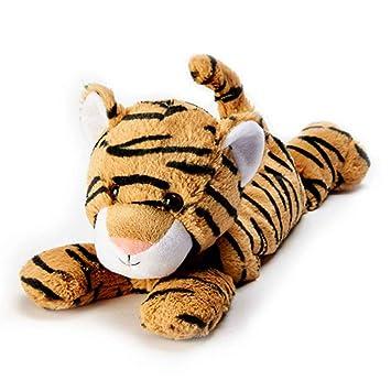 Tigre de peluche Warmies, apto para microondas y con aroma a lavanda