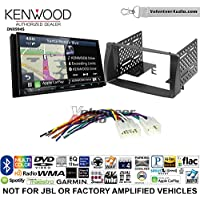 Volunteer Audio Kenwood Excelon DNX994S Double Din Radio Install Kit with GPS Navigation Apple CarPlay Android Auto Fits 2003-2008 Non Amplified Toyota Corolla