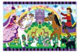 Melissa and Doug Fairy Tale Friendship Floor Puzzle, Baby & Kids Zone