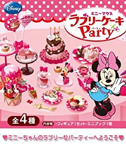 Caja sorpresa Minnie Mouse Lovely Cake Party 4 Re-Ment