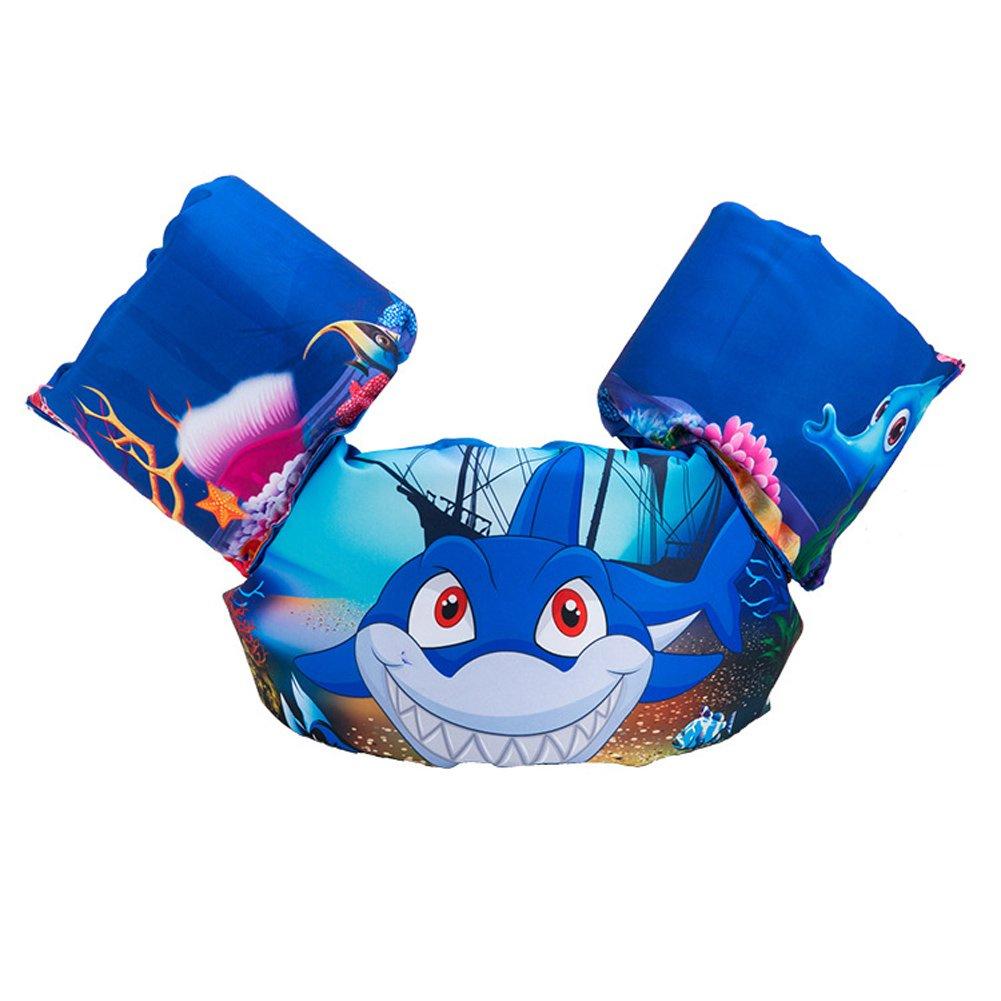 HomDSim Kids Cartoon Life Jackets & Vests Toddler Life Jacket Baby Swim Float Kids Swim Life Vest/Kids Swimming Floats Vest for Kids-Flotation Device 30-50 lbs