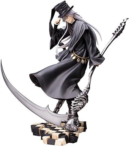 BLACK BUTLER KUROSHITSUJI Undertaker ArtFX J 1//8 Pvc Figure Kotobukiya