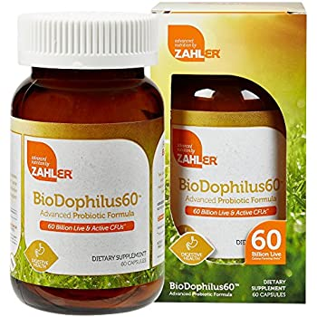 Amazon Com Zahler Biodophilus Ll Natural Advanced