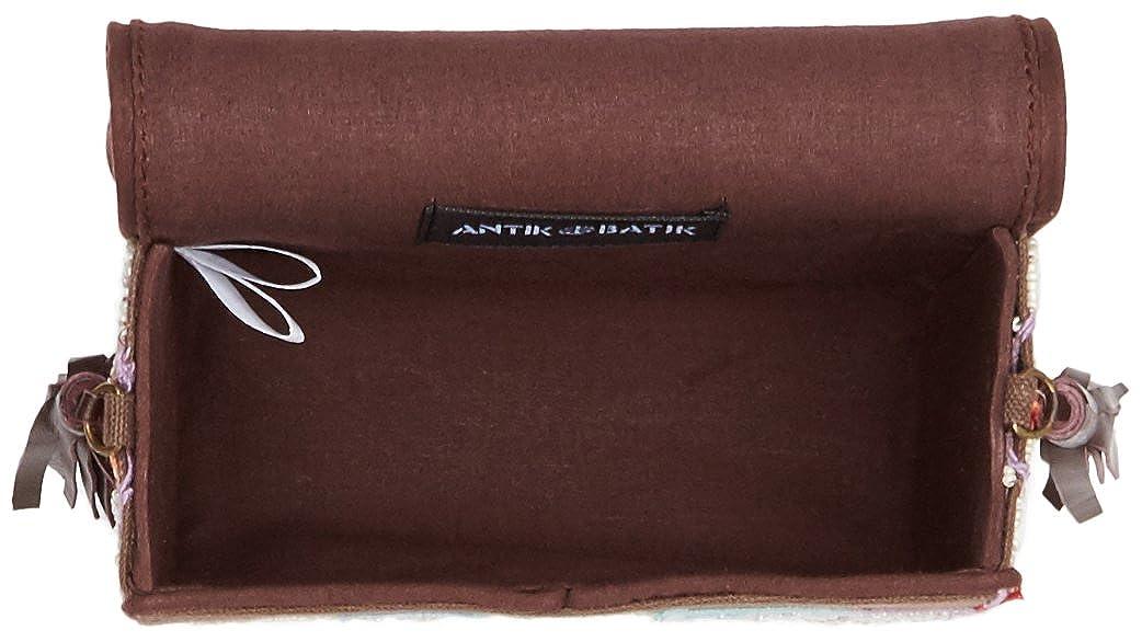L bolsos w Mallo H Batik mujer Clutch Amazon X es bolso Antik Zapatos para Marron marrón Cm 6x16x14 y cruzado HqRO6n