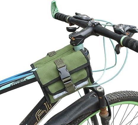 Leezo - Bolsa para Bicicleta de montaña, Impermeable, Doble Cara ...