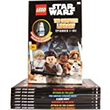 LEGO STARWARS - THE COMPLETE LIBRARY EPISODES 1 - VII & EXCLUSIVE FIGURE