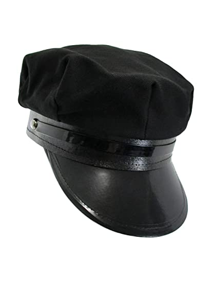 Amazon.com   Black Chauffeur Taxi Limo Driver Hat Cap   Everything Else 95eb05dce4b
