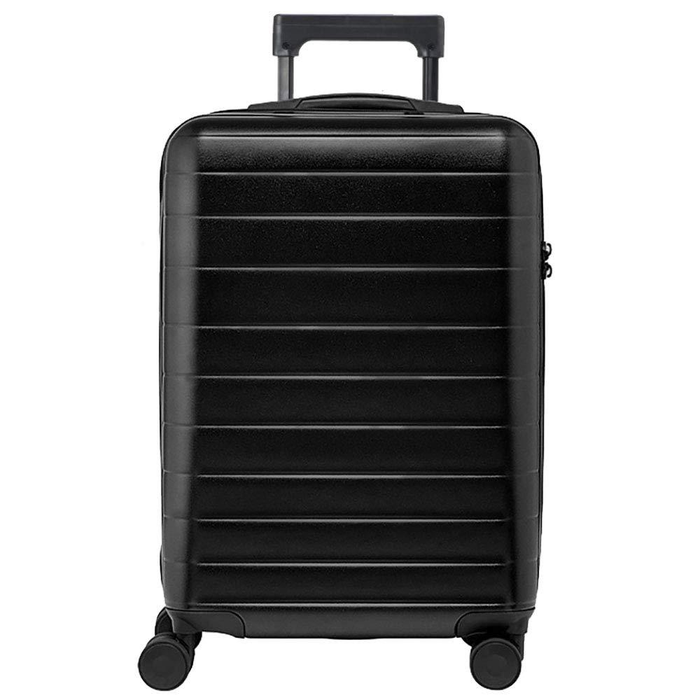 トロリーボックスPC大容量ポータブル出張ミュートキャスタースーツケース(ブラック)   B07M8NNRC9