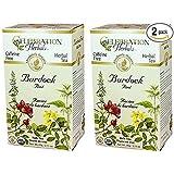 Celebration Herbals Organic Burdock Root Tea Caffeine Free - 48 Teabags in Total