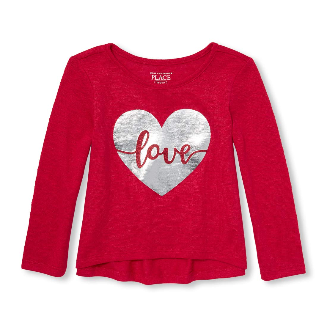 The Childrens Place Girls Toddler Long Sleeve Shirt