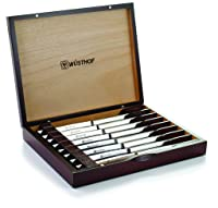 Wusthof 8pcsteak 8-Piece Stainless-Steel Steak Knife Set