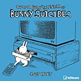 2018 Bunny Suicides Calendar - teNeues Grid Calendar - Humour Calendar - 30 x 30 cm