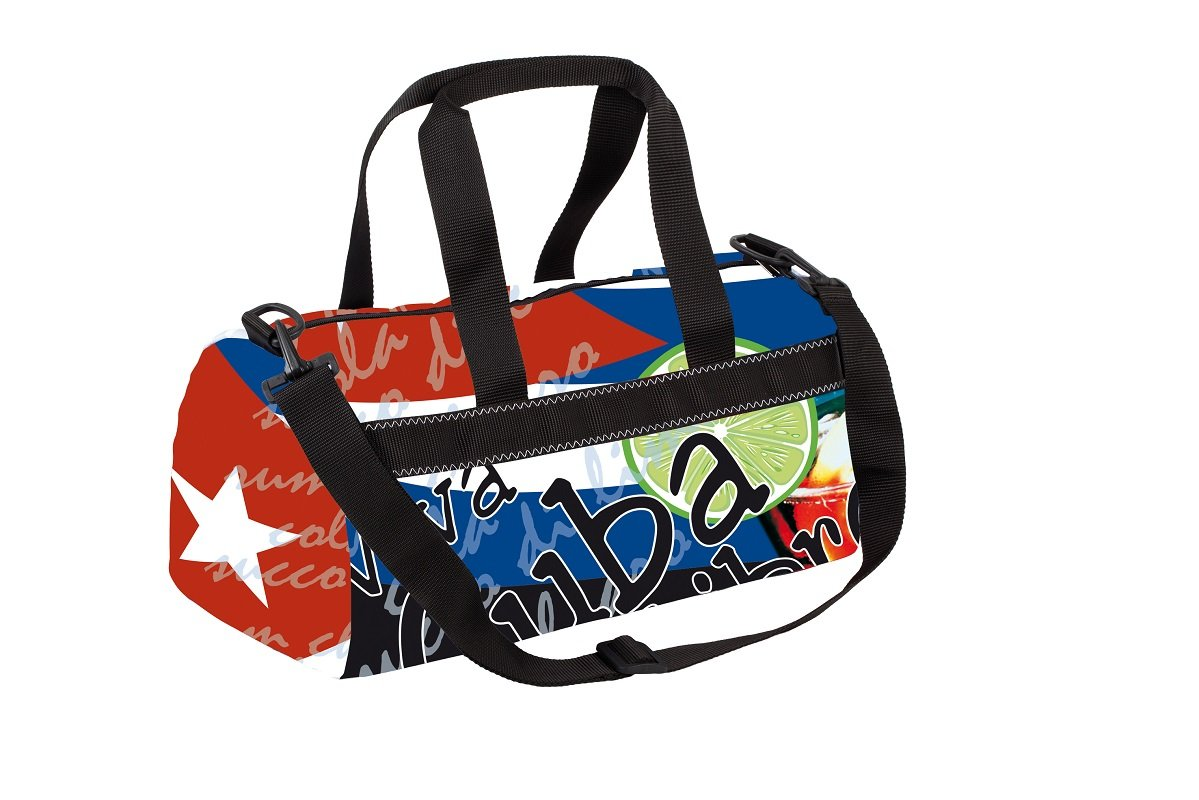 0a1c2fe0c56f Okeo -Borsa ACTIVITY CUBALIBRE- Sports Bag Graphics; ideal for carrying  your belongings with shares in the pool.: Amazon.co.uk: Luggage