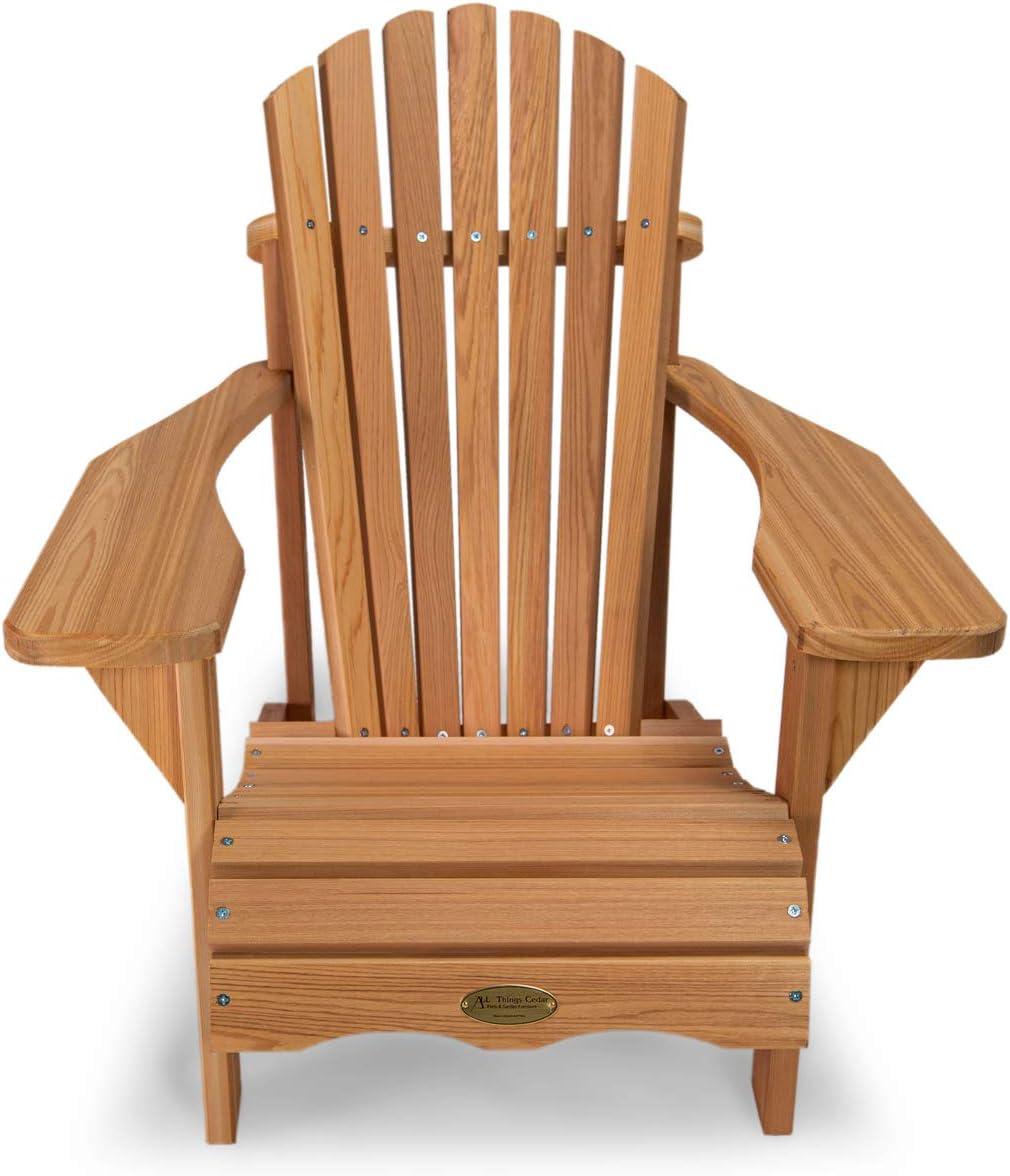 All Things Cedar CA14 Adirondack Child Cedar Patio Chair