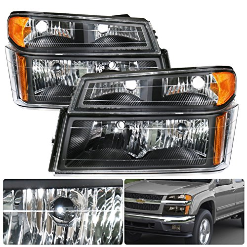 Set Black Fog Lamp Spot Light Fit Chevrolet Colorado: Headlight Isuzu I-290, Isuzu I-290 Headlights