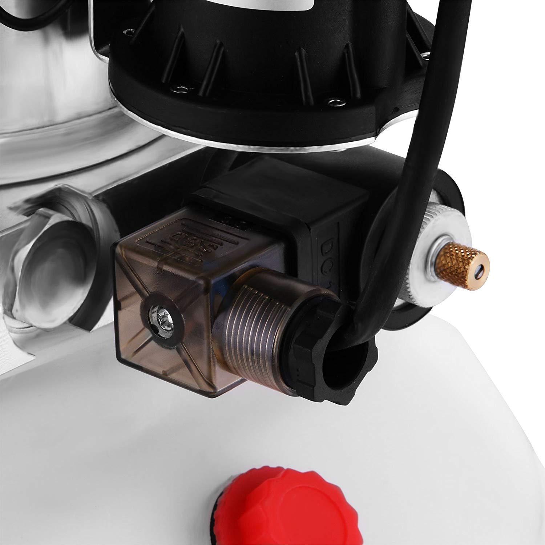 Mophorn 4 Quart Hydraulic Pump Dump Trailer Power Unit Steel, 4 Quart//Double Acting