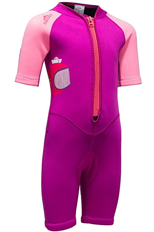 Cokar neopreno shorty – Traje de neopreno infantil (2 mm Traje Bañador Diving  Suit 8927ecacfa6