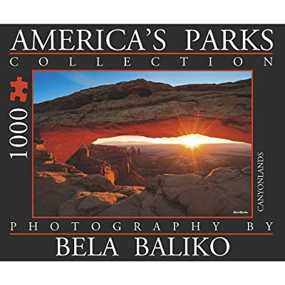 Bela Baliko Photography, Americas Parks Mesa Arch 1 1000 Piece: Toys & Games