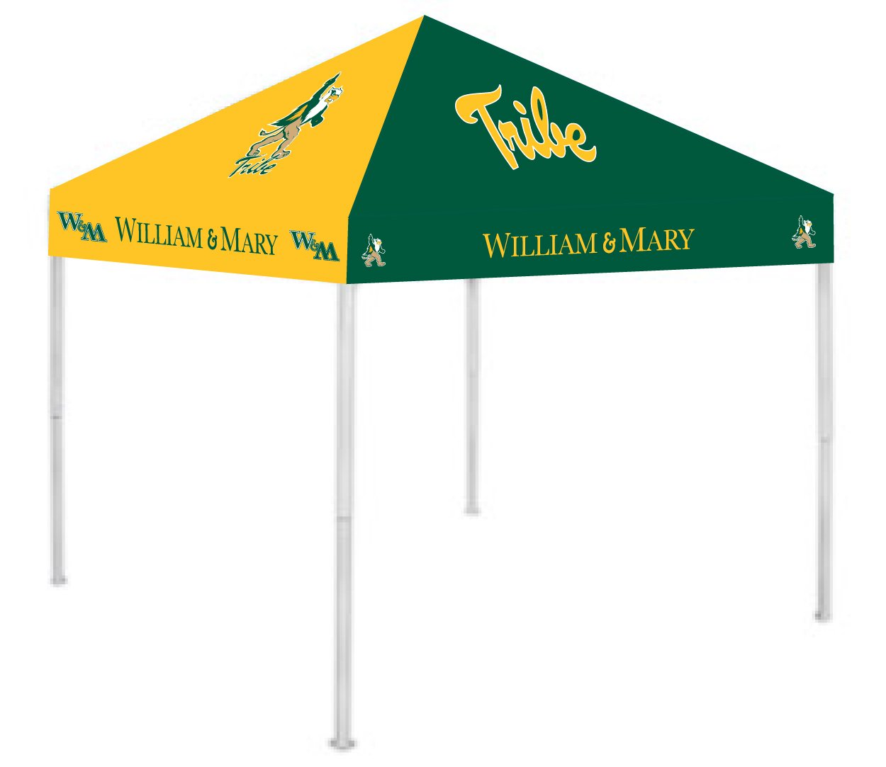 Rivalry RV436-5000 William and Mary Canopy B00824V30W 9 x 9|William and Mary William and Mary 9 x 9