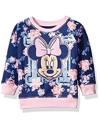 Disney Minnie Mouse - Sudadera con Estampado Floral para niña