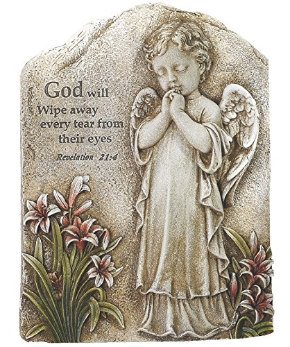 (Napco Praying Angel Plaque, 7.75