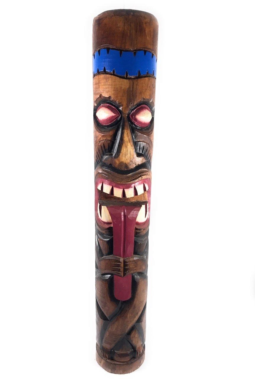 Big Kahuna Chief Tiki Totem 40'' - Tropical Decor | #dpt5363100 by TikiMaster