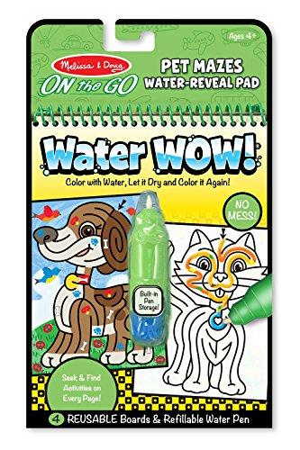 Melissa Doug Water Water Reveal Activity