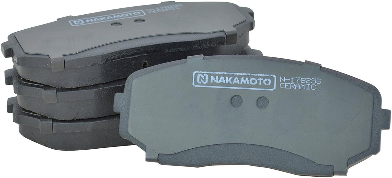 Nakamoto Front /& Rear Ceramic Brake Pad /& Rotor Kit for Mazda CX-9 SUV Truck New