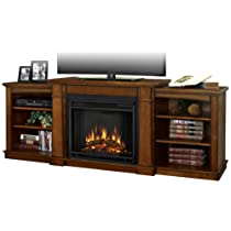 Real Flame Hawthorne Electric Fireplace - Burnished Oak