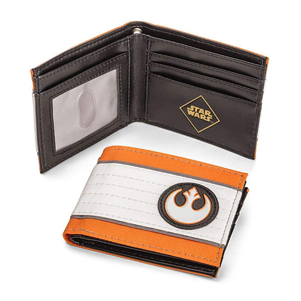 Star Wars Rebel Alliance Bi-Fold Wallet BioWorld TYK-BIW-16619-C