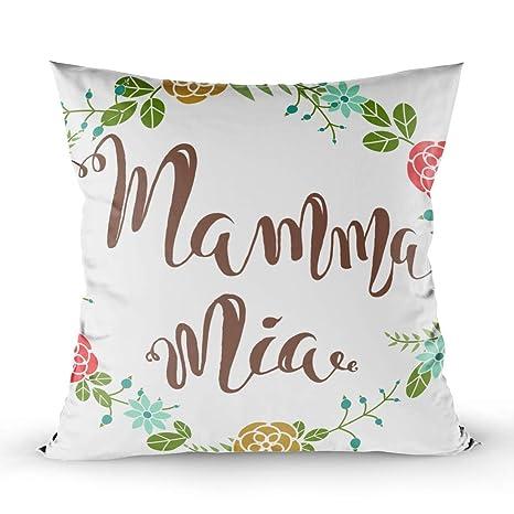 Amazon.com: Musesh Daisies Funda de almohada para sofá o ...