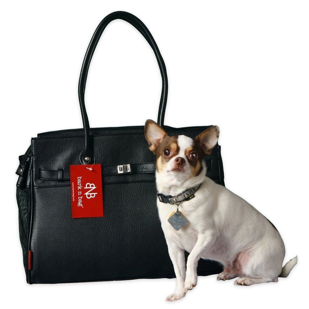 Bark-n-Bag Monaco Pet Tote - Black MJC-028