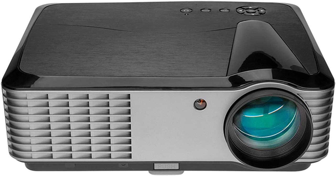 5000 Lumens Projector,1080p Native Projector with WiFi and Bluetooth, Home Theater Projector with HDMI USB VGA AV, Projection Size 50