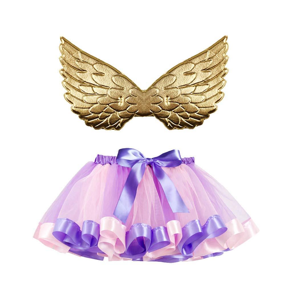 Mealeaf ❤️ Disfraz de tutú para niñas y niños, Baile, Ballet ...