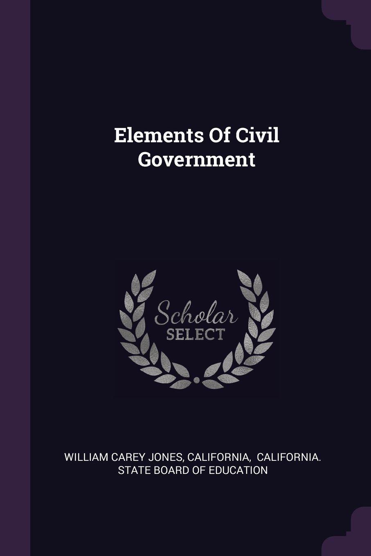 Elements of Civil Government PDF ePub book
