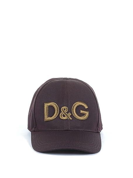 grande sconto fashion style vasta selezione di Dolce E Gabbana Cappello Uomo Gh590zge887m5039 Lana Marrone ...