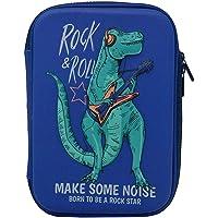 Proque Multipurpose Zipper Pencil Case, Pen & Pencil Pouch Bag Case for School Supplies for Kids (Dinosaur)