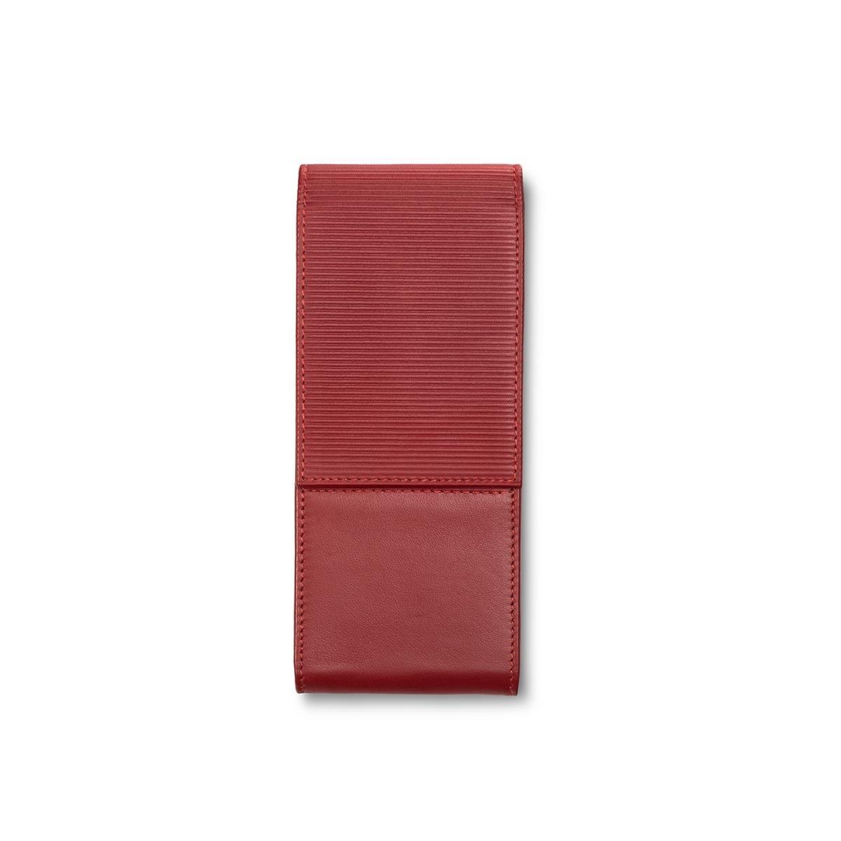 Lamy 1225584/a 316/Custodia in pelle nappa in pelle per 3/Penne Rosso