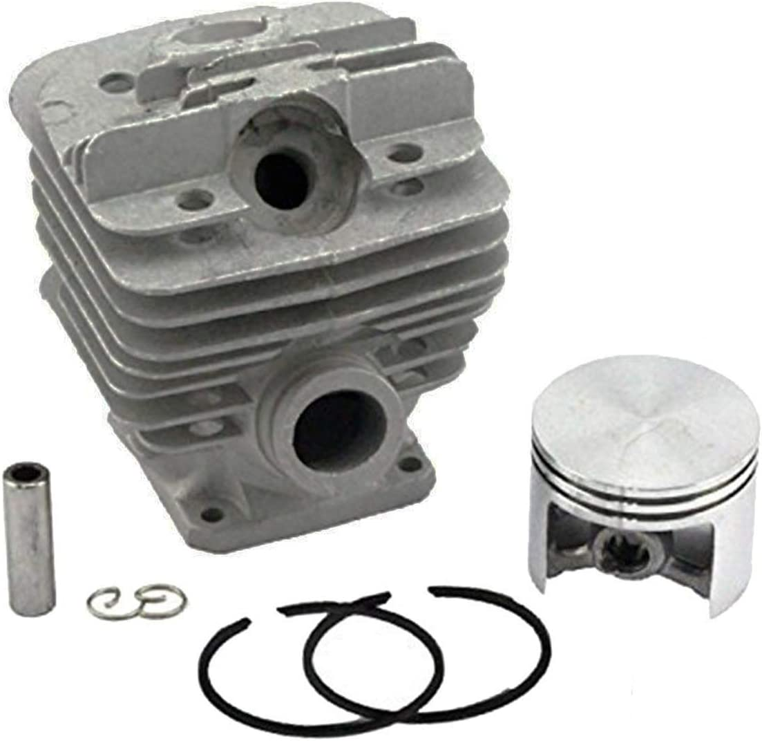 Hippotech 48mm Cylindre Piston avec Broche Circlip Circlip pour tron/çonneuse Stihl 034 036 MS360 MS340 Remplace OEM 1125 020 1215