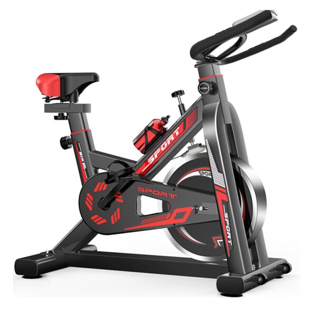 フィットネス用品 室内エクササイズ自転車フィットネス機器ホームスピニング自転車超静音エクササイズバイク エクササイズ