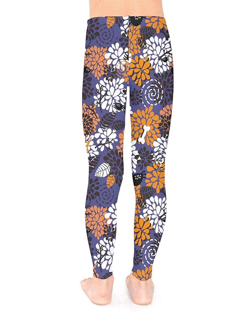 PattyCandy Girls Boys Leggings Stretchable Cool 3D Halloween /& Funny Ghost Print for 2-13 Years Old