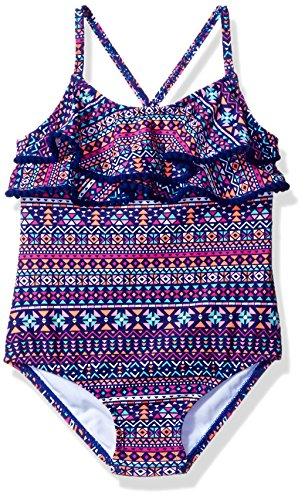 Carters Girls Piece Ruffle Swimsuit