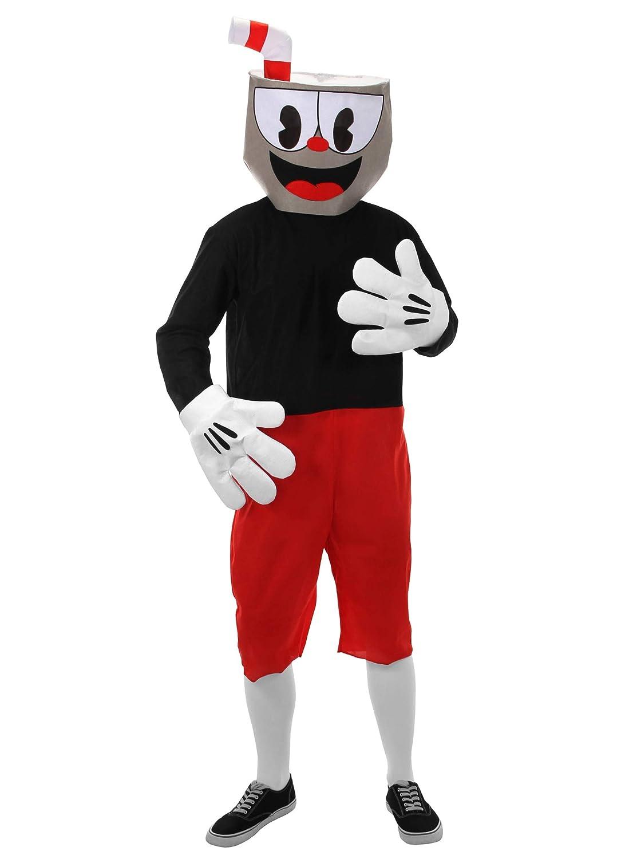 elope Cuphead Cosplay Basic Costume