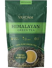 VAHDAM, Green Tea Leaves from Himalayas , 100% Natural Tea, POWERFUL ANTI-OXIDANTS, Brew Hot Tea, Iced Tea or Kombucha...