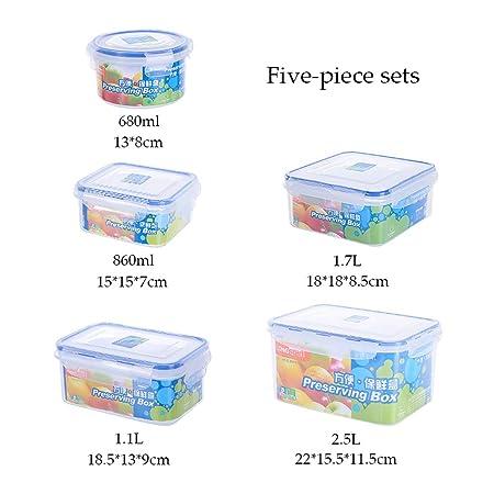 MIAO. Recipiente para Alimentos de plástico para Alimentos de ...