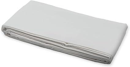 300 Thread Count 4 Piece: Fitted Sheet Whisper Organics Bed Sheets Twin XL, Silver Organic 100/% Cotton Sheet Set Flat Sheet 2 Pillowcases