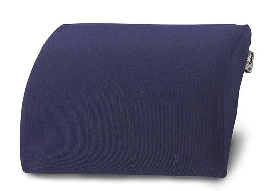dunkelblau Jerseybezug Unbekannt Lordose-Reisekissen